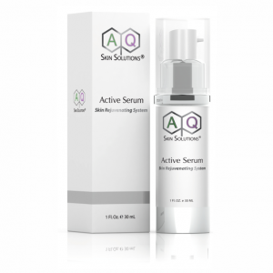 AQ Skin Solutions Active Serum Skin Rejuvenating System available from Dr Ria Smit