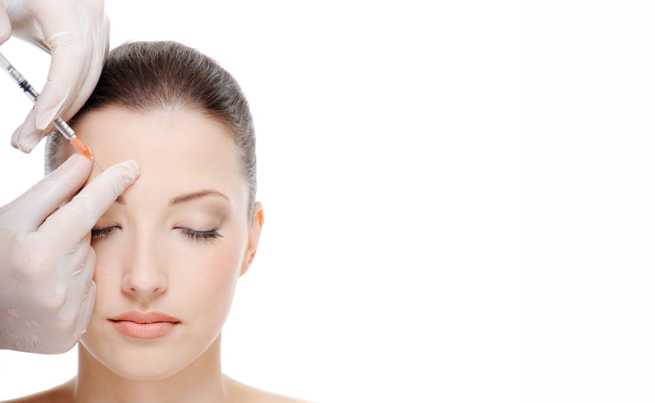 Botox treatment, around the eyes, the brows, the forehead Dr Ria Smit Paarl