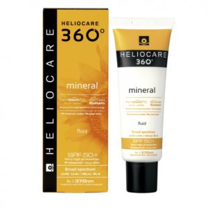HELIOCARE 360º Mineral SPF50+ maximizes the efficient photoimmuneprotection against UVB, UVA, visible and infrared rays