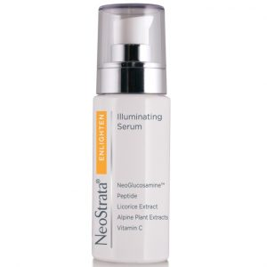 Neostrata Enlighten Illuminating Serum Illuminates and brightens skin that is affected by hyperpigmentation caused by ageing, hormonal fluctuations and UV exposure.