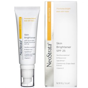 Neostrata Enlighten Skin Brightener SPF25 is an antioxidant-enriched moisturizer and is ideal for dry skin, normal skin, oily skin.