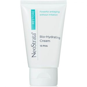 Neostrata Restore Bio Hydrating Cream 15 PHA can gently exfoliate and moisturize the skin while reducing the signs of aging