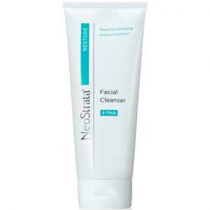 Neostrata Restore Facial Cleanser 4 PHA a soap-free, non-foaming gel formulation to cleans skin