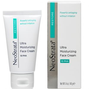 Neostrata Restore Ultra Moisturizing Face Cream helps to Enhances surface texture and skin clarity.