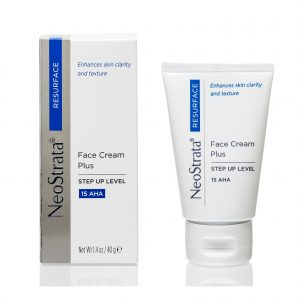 Neostrata Resurface Face Cream Plus Step Up Level 15 AHA helpes to brighten the complexion and improve the overall texture and appearance of the skin.