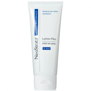 Neostrata Resurface Lotion Plus Step UP Level 15 AHA is formulated with Glycolic Acid to reduce the visible signs of aging.