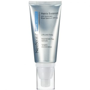 Product photo of Neostrata Skin Active Matrix Support, improves skin texture and uneven tone while helping skin to look firmer and healthier.