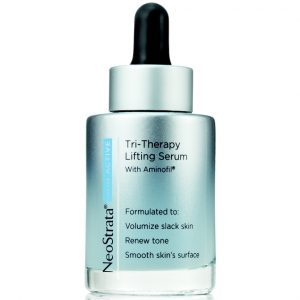 Product photo of Neostrata Skin Active Tri Therapy Lifting Serum with Aminofil that helps to volumizes the look of slack skin with Aminofil Amino acid.