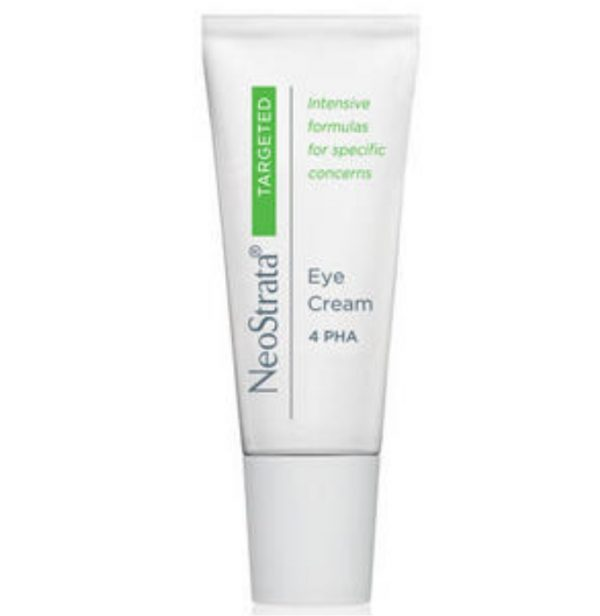 Neostrata Targeted Treatment Eye Cream 4 PHA helps reduce the appearance of fine lines & wrinkles without irritating the delicate eye area