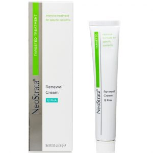 Neostrata Targeted Treatment Renewal Cream 12 PHA Improves severe photoageing with proven enhancements in overall skin texture, pore size and evenness of tone.