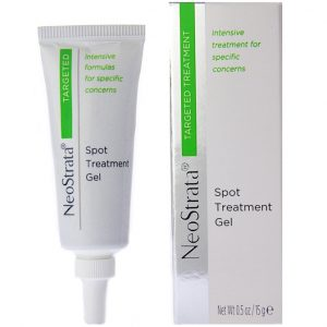 Neostrata Targeted Spot Treatment Gel penetrates pores to quickly eliminate most acne blemishes and encourages the area to heal