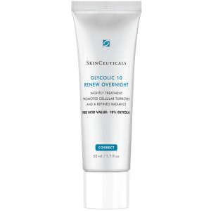 SkinCeuticals Glycolic 10 Renew Overnight is a night treatment promotes cellular turnover and a refined healthy and radiant skin.