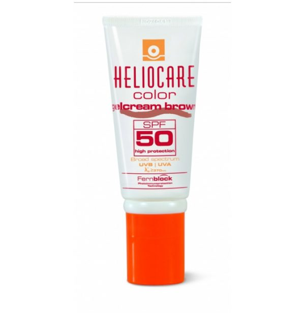 Heliocare Color Gelcream Brown SPF50 with an SPF of 50 is a shaded sunblock for Medium and Darker skin tones. A distinctive gel cream texture and is easy to apply.
