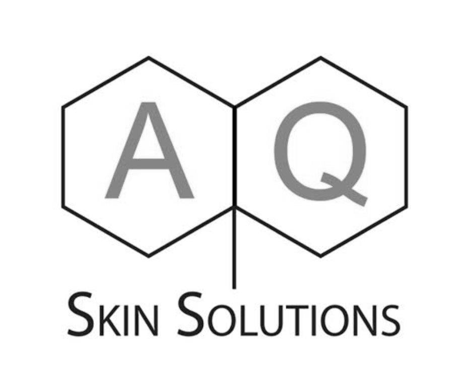 AQ Skin Solutions Logo Black White